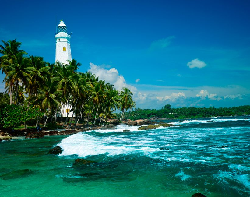 Lighthouse in Sri Lanka
